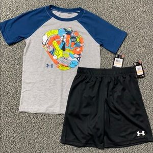 Under Armour Boys Outfit 7 NWT